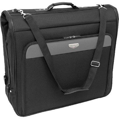 46″ Hanging Garment Bag in Black, Bags Central