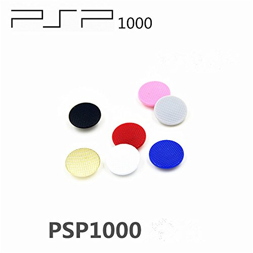 - Gametown 7 PCS Analog Joystick Stick Button Controller Cap Thumbstick Cover for Fat PSP 1000 PSP 1001 (Colorful)