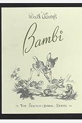 Walt Disney's Bambi (The Sketchbook Series) Hardcover