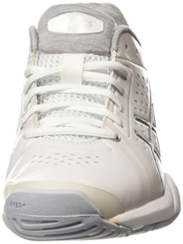 white court Donna Tennis Asics 0193 0193 Bella silver Eu Da 42 Gel Scarpe Bianco white UCYxxq58wp