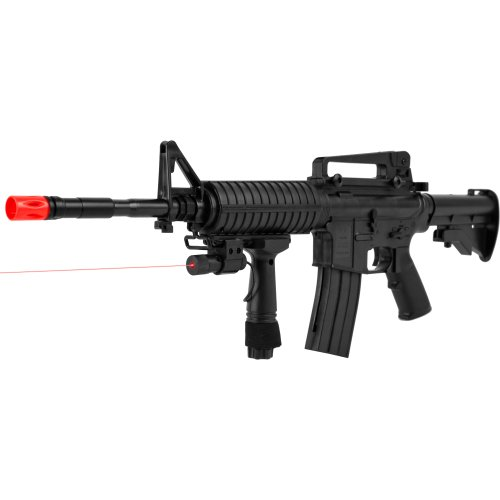 (Cyma P.1158CA Airsoft Rifle with Targeting Laser,)