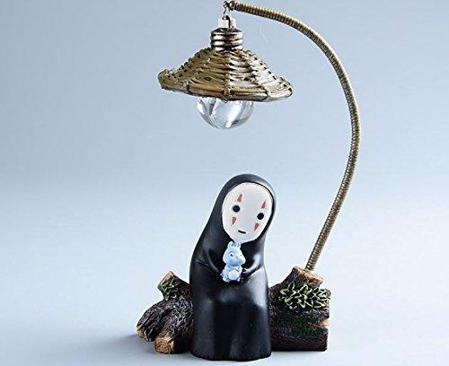 Japanese Kaonashi No Face LED Night Light Figure Studio Ghibli Miyazaki Hayao Spirited Away Anime Resin Action Figuras Christmas (set B) (Chibi Figures Anime compare prices)