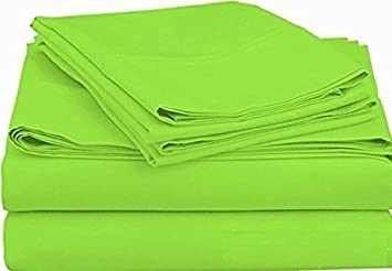 LaxLinen 100% Egyptian Cotton Fitted Sheet & 2pc Pillow Case (+30 inch) Extra Deep Pocket Full Extra Long, Black Solid 600 Thread Count