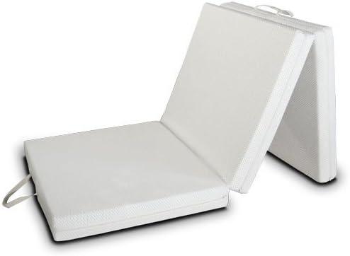Lit d/'appoint Comfort avec matelas pliable 80x200cm pliant invités Couchage Lit