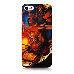 QYF Webgame Character Pattern Silicone Soft Case for iPhone5/5s