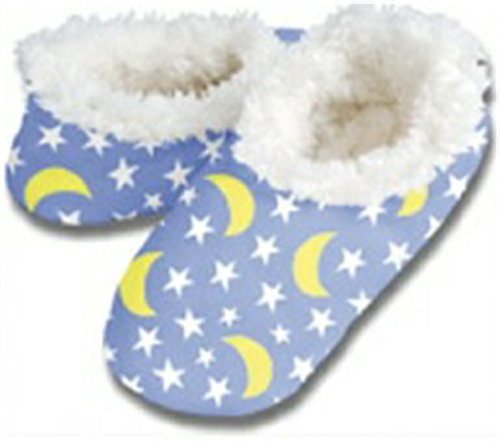 Snoozies Cosy and Warm Slippers - blau Sternenhimmel m6nkSuSuy6
