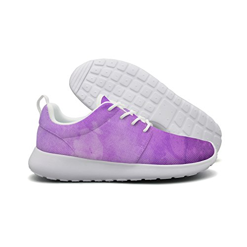 - Art Magical Painting Watercolor Fashion Print Athletic Shoes Breathable Mesh Shoes