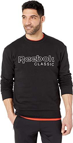 Reebok Crewneck Sweatshirts - Reebok Classics Crew Neck Sweatshirt, Black, Medium