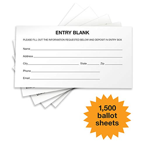 1500 Entry Forms