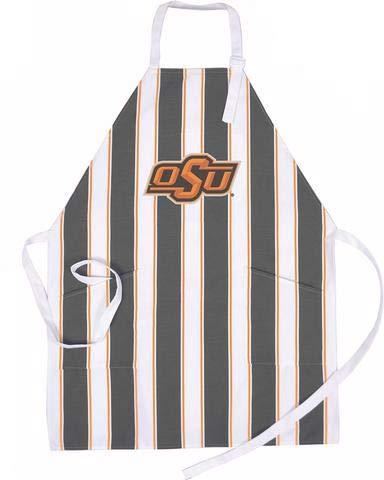 Oklahoma State Cowboys - NCAA Barbecue Apron - Oklahoma State Cowboys Tabletop