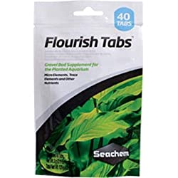 Seachem Flourish Tabs Growth Supplement - Aquatic Plant Stimulant 40 ct