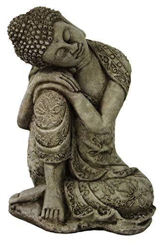 (Thai Buddha Meditating Sitting Buddha Garden Statues Concrete Asian Statue Chinese Outdoor Buddha Statuary Cast Stone Figurine)