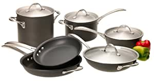 Calphalon One Infused Anodized 10-Piece Cookware Set