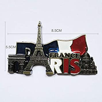 Imán para nevera con diseño de Torre Eiffel 3D, imán para nevera ...