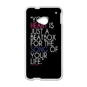 HTC One M7 Phone Case Quotes jC-C11662