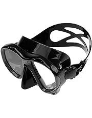 Fancyes Máscara para Mergulho com Snorkel E Mergulho com Cilindro E óculos de Proteção com Lentes de Vidro Temperado