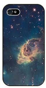 Case For Sam Sung Galaxy S5 Cover Carina nebula- black plastic case / Space, Stars, Fantasy