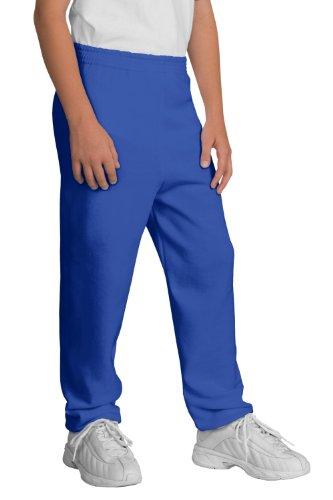 Port & Company Youth Sweatpant>M Royal ()