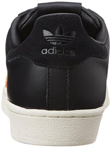 S80290 Baskets Noir blanc Adidas Ro jaune nbsp;femme Taille Superstar Unique TSZqxwO