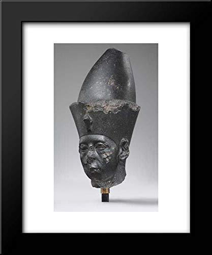 Middle Kingdom Period - 15x18 Framed Museum Art Print- Head of King Amenemhat III