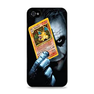 Joker Holding Charizard iPhone 6 Plus Black Hardshell Case