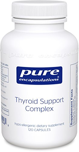 Pure Encapsulations - Thyroid Support Complex - Hypoallergenic Supplement with Herbs and Nutrients for Optimal Thyroid Gland Function* - 120 Capsules - Thyro Complex