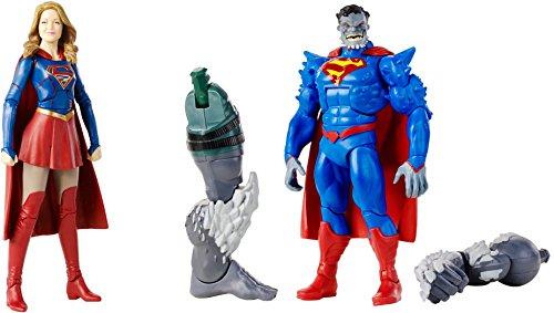 Super Hero Supergirl vs Superman Doomed 6