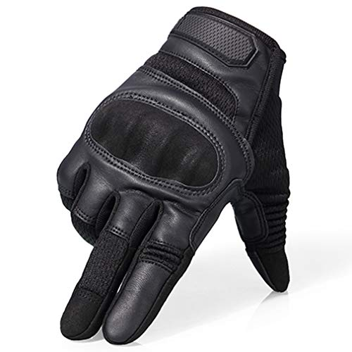 EBRICKON Touch Screen Tactical Hard Knuckle Full Finger Gloves Airsoft Paintball Military Army Soldier Assault US Armor Anti-Skid Gloves