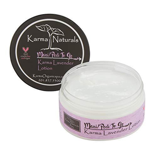 Karma Organic Natural Lavender Lotion-Stress Relief, Moistur