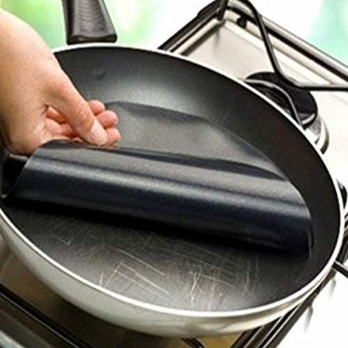 nbvmngjhjlkjlUK 1 Pcs Réutilisable Anti-Adhésif Barbecue Grill Tapis Pad Feuille De Cuisson Mailles Portable Pique-Nique en Plein Air Cuisson Barbecue Outils (Noir)