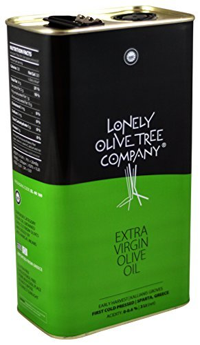 Lonely Olive Tree Extra Virgin Olive Oil 3L Tin (Halloween Date Usa)