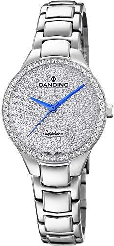 Candino Lady Petite C4696/1 Reloj de Pulsera para mujeres Con Zircones: Amazon.es: Relojes