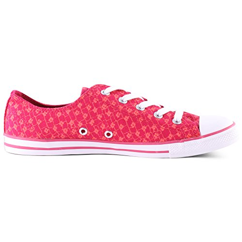 Converse Dainty 5 Leiste Tex Slim Sizegroup Damen Base 537204c As b Schuhe 37 Blanc 7 Ox 1xtwtdSO
