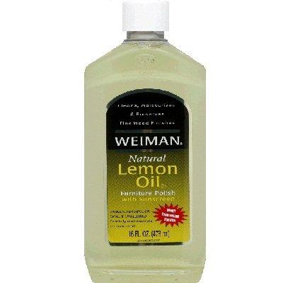 Weiman Lemon Cleaner Polish UVX 15
