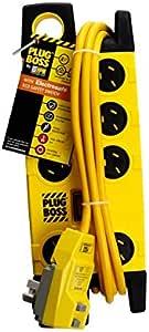 D105PBOSSELPA8 8 Way Safety Powerboard Boss Inc Electresafe RCD Switch HPM - 9321001275510