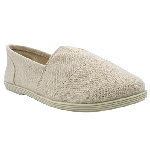 Soda Women Oggetto Flats-shoes New Beige