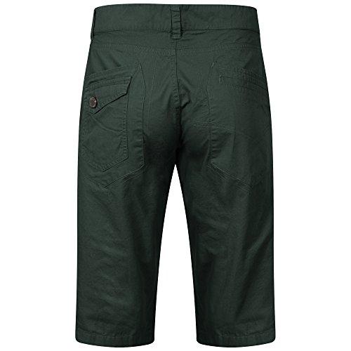 Para Hombre 7g81 Green Corto Other Pantalón q1T6F