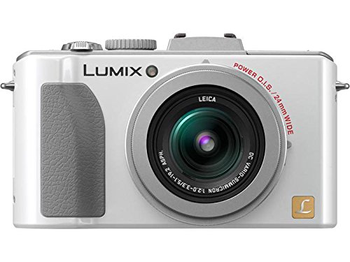 Panasonic Lumix DMC-LX5 10.1 MP Digital Camera with 3.8x Optical Image Stabilized Zoom and 3.0-Inch LCD – White For Sale