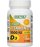 Deva Vegan Vitamin D3 - 1000 IU [Lichen Source] 90 Tabs