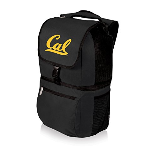 NCAA California Golden Bears Zuma Insulated Cooler Backpack, Black (Cal Bears Backpack)