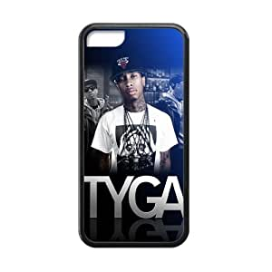 MMZ DIY PHONE CASEMerry Christmas! Hip Hop Tyga Silicon iphone 5c Case Cover CoverCover(Laser Technology), Best Durable Tyga iphone 5c Case