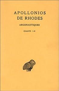 Argonautiques, tome 1, chants I-II, 2e tirage par  Apollonios de Rhodes