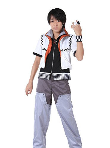ICEMPs Kingdom Hearts II Cosplay Costume Roxas Outfit 1st Version Set XS