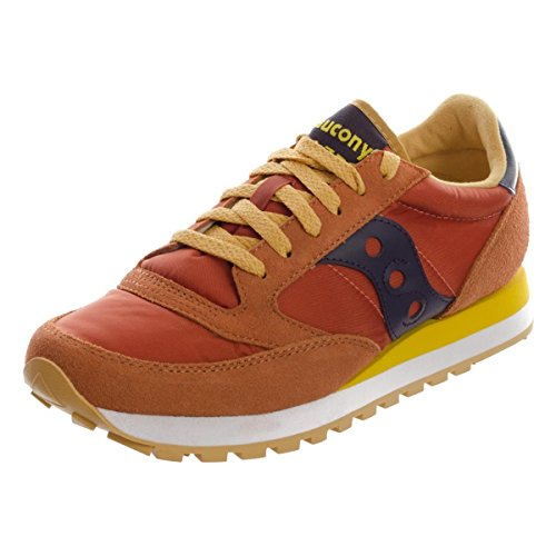 Burnt Top Low Saucony Original Orange Donna Scarpe Jazz qxwSw4p