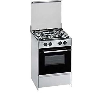 Meireles G1530DVXNAT Independiente Encimera de gas Acero inoxidable - Cocina (Cocina independiente, Acero inoxidable