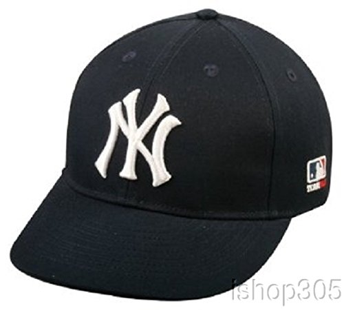 Mlb Replica Cap - New York Yankees Youth MLB Licensed Replica Caps / All 30 Teams, Official Major League Baseball Hat of Youth Little League and Youth Teams , New York Yankees - Home