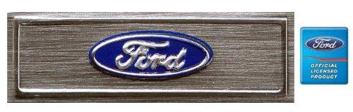 Ford Oval Emblem Insert Below Scuff Plate for Rocker Panel / Door Sill Sill Plate Emblem