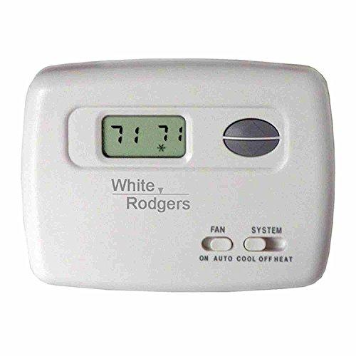 White Rodgers Digital Horizontal Heat/Cool Thermostat - (White Rodgers Digital Thermostats)