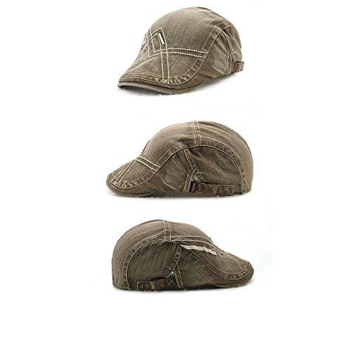 Impression 1 PCS Boinas Ocio Retro Hat Gorra de golf Sombrero de Sol Boina  de moda 7e14cc5d3fa