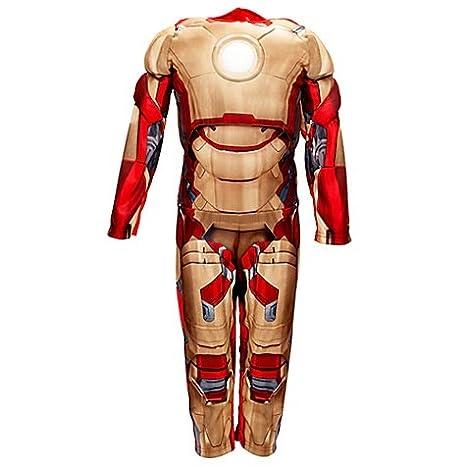 Disney Store Traje 7 - 8 años Iron Man Carnaval Niño ...